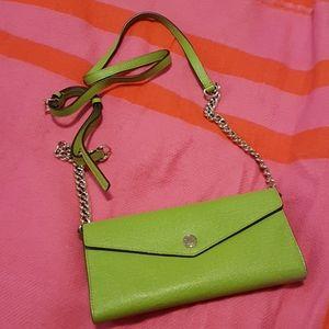 Michael Kors wallet style crossbody purse